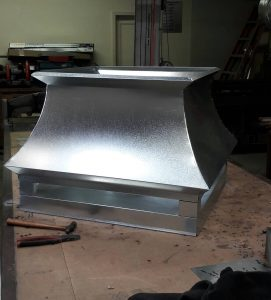 831 Heating & Sheetmetal Inc. custom vent hood