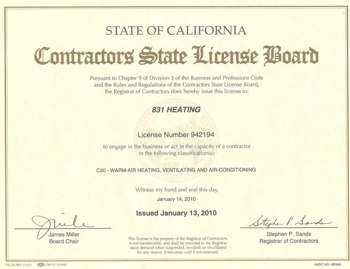 Experience Certificate 2