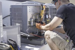 831 Heating Inc. HVAC technician