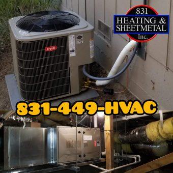 831 Heating & Sheetmetal Inc. project